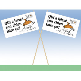 Campagne anti-crottes chiens