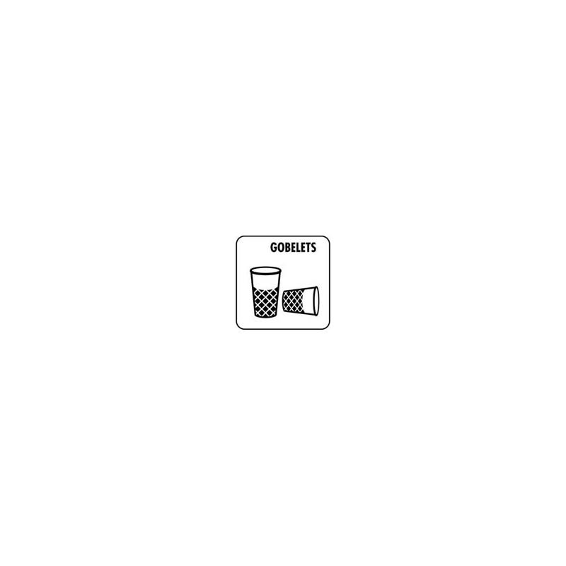 Gobelets 10x10